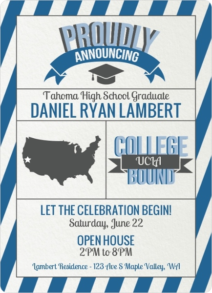 Formal Graduation Invitations is an amazing ideas you had to choose for invitation design